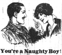 """You're a Naughty Boy"" is sex-negative"