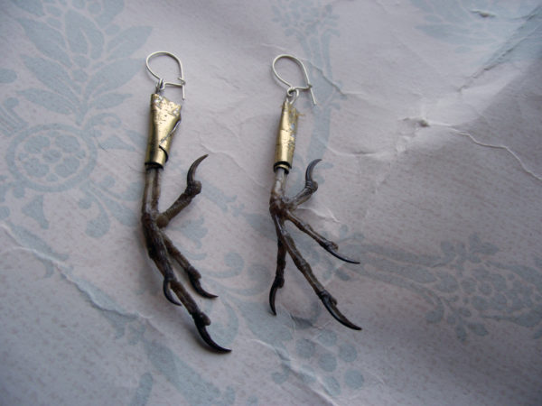 Blackbird Feet Earrings