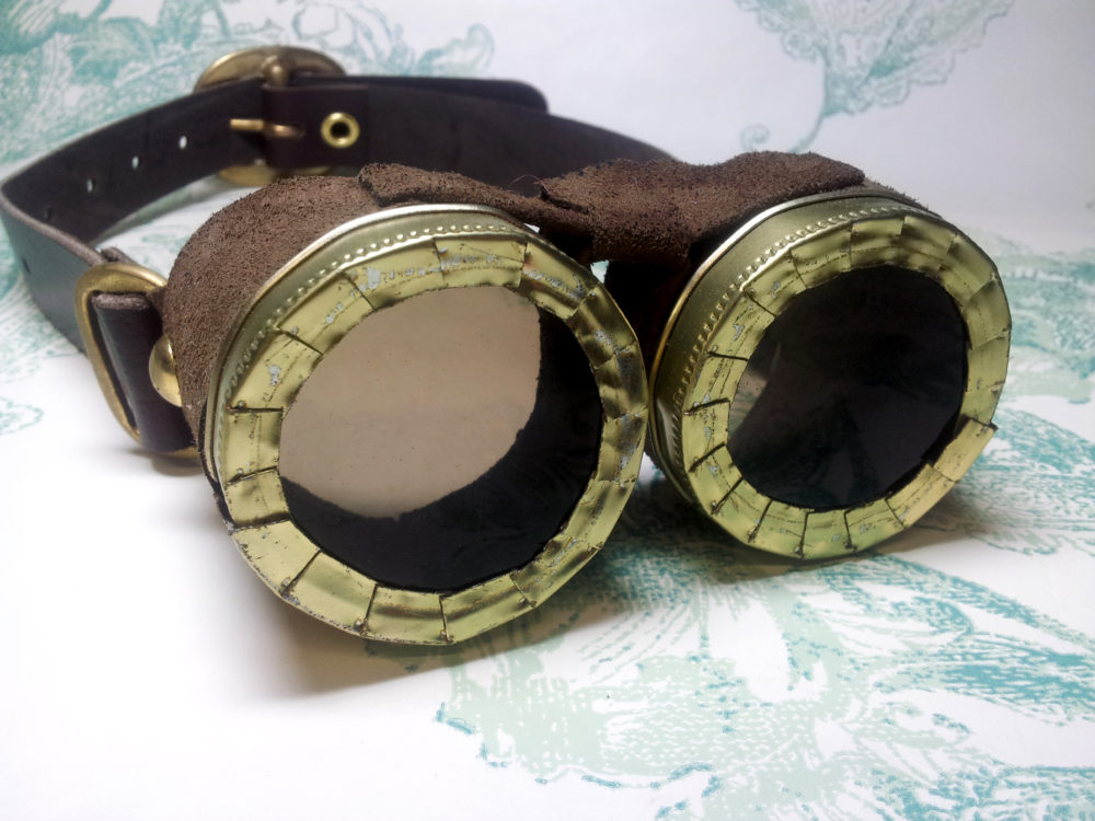 Raptor Tracking Goggles