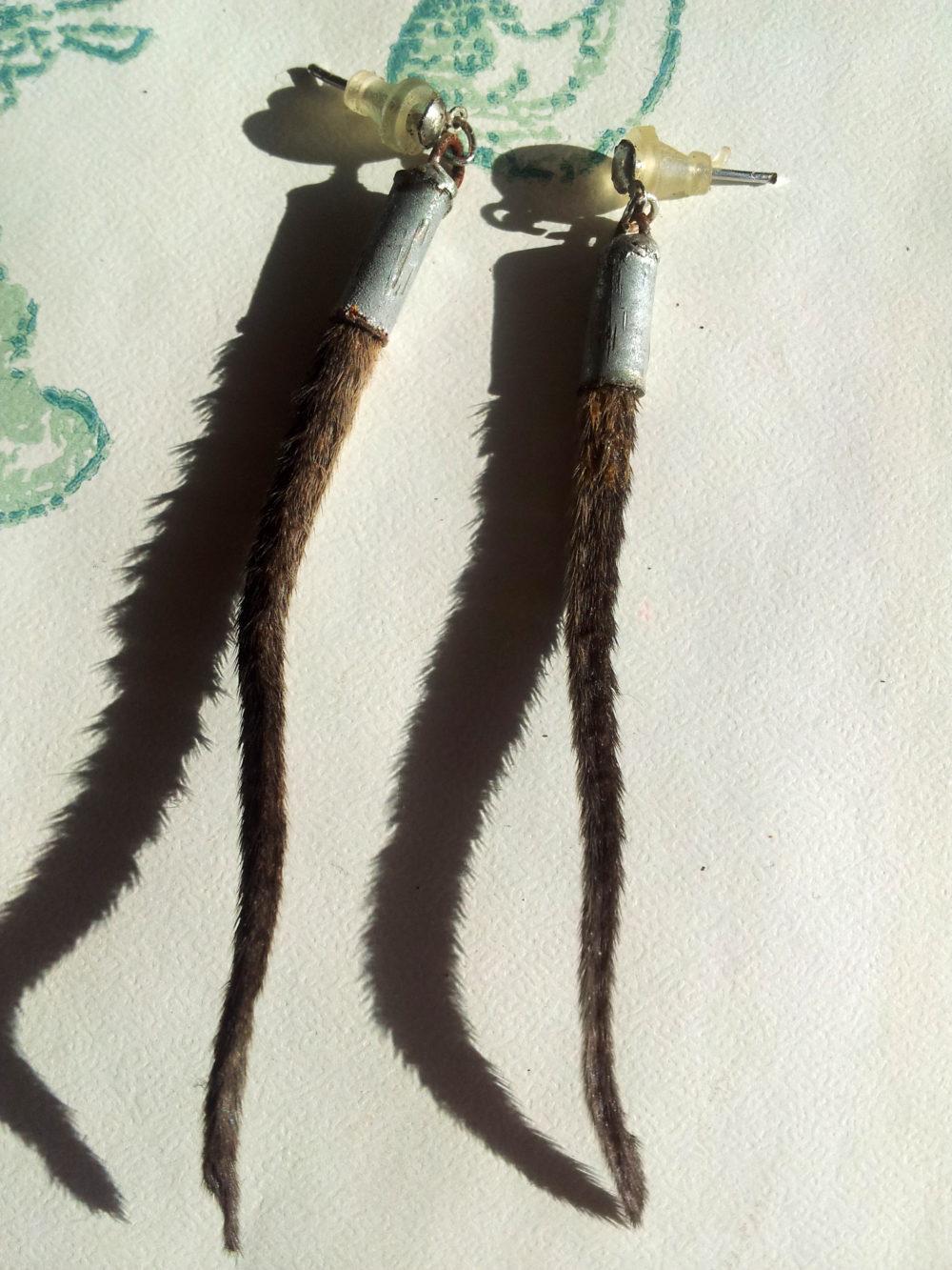 Rat Tail Earrings