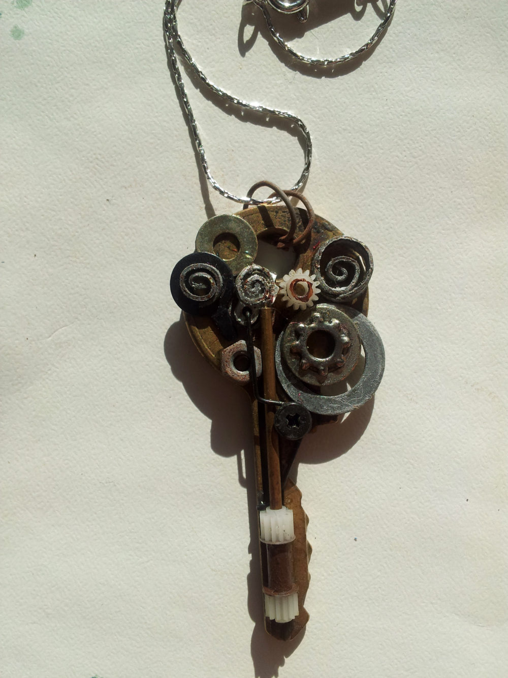 Dirigible Key Necklace